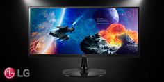 Crisp, clear, and completely ideal for your next adventure. http://www.lg.com/us/gaming-monitors. #gaming