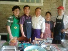 Cooking Show in Yang Pyung 양평목왕리 산귀래별서에서의 제5회 안코치 음식발표회 부쉐프들과 함께