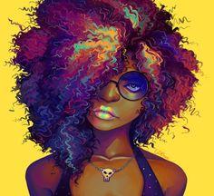 Creative Portrait Illustrations by Geneva B