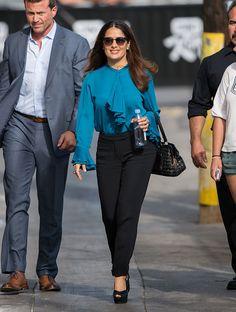 salma hayek looks moda estilo celebridades