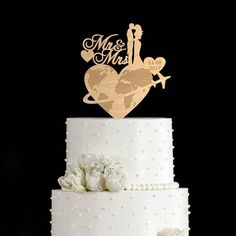 Travel wedding cake topper,travel wedding cake,travel wedding,travel themed cake topper,wedding airplane cake topper,airplane cake,6632017