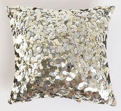 sequin throw #pillows # accents