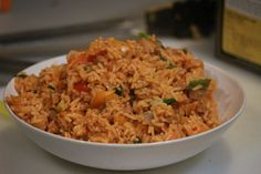 Spicy Sausage Rice - another Gordon Ramsay recipe from Ultimate Cookery Course (s01e05) - Imgur