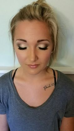 Glamour wedding makeup-All about the eyes! Makeup by Morgan www.yourmakeupdestination.com