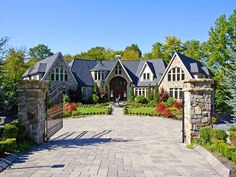 Boonton Township, N.J. A large gate opens to display this beautiful ...
