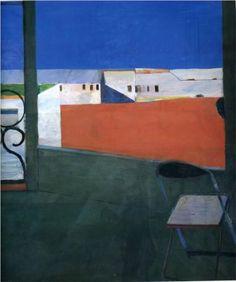"""""""Window"""" (1967)  by Richard Diebenkorn"""