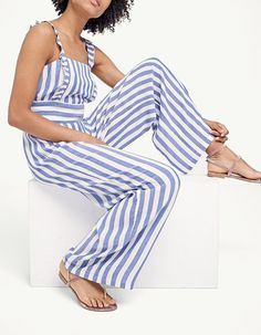 At Stradivarius you'll find 1 Striped strappy jumpsuit for just 35.99 United Kingdom . Visit now to discover this and more Jumpsuits.