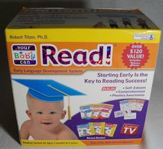 Your Baby Can Read! Early Language Development System  #DevelopingMinds