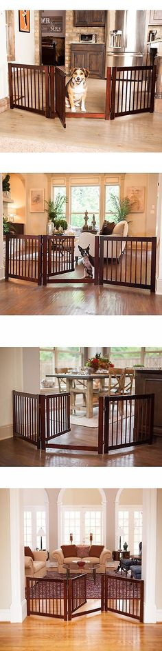 fences and exercise pens gate pet free standing dog wood wooden fence indoor