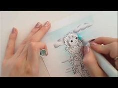 Kit and Clowder: A tutorial on Sky and Clouds. For relevant tutorials please take a look at the links below:  Grass - http://youtu.be/6Ag670qMCSk  Speed Colouring of Bucket of Fun image - http://youtu.be/vnvK1pHb5c4    Stamp: Bucket of Fun by Crafty Sentiments - http://craftysentimentsdesigns.co.uk/  Copic Paper: Make it Colour by Make it Crafty - http://makeitcrafty...