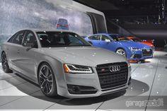 Audi hall at the LA AUTO SHOW #Audi #Audis8 #Garagesocial #LosAngeles #LAcars #LA #AudiFans