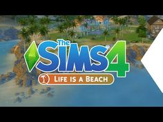 The Sims 4 | Life's a Beach mod & tutorial | visual override