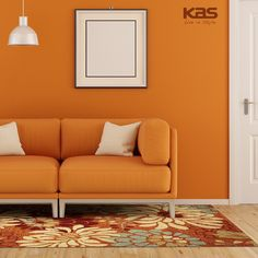 """Pedal power! Put the Meridian Saffron Silhouette anywhere you want an #artsy and organic look. Don't forget to LIKE, COMMENT, and REPIN our Easter Giveaway (pinned to our """"Free Giveaway"""" board) for a chance to win a free rug! http://www.kasrugs.com/product/details/MEI251233X53 