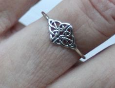 Sterling silver celtic knot ring sterling by CapturedIllusions Silver Celtic Rings, Celtic Knot Ring, Sterling Silver Rings, Irish Jewelry, Fashion Jewelry, Wedding Rings, Gifts, Style, Eco Friendly