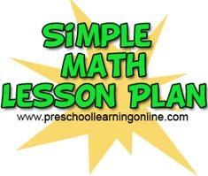 Math Activities - Preschool Learning Online
