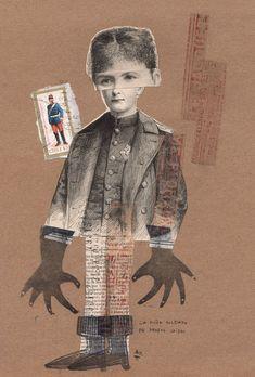 """Rodrigo Gárate Chateau, """"LA NIÑA SOLDADO"""" (2016). La niña soldado de brazos caídos vuelve a su guerra sin violencia alguna."""
