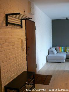 Stara cegła weszła na ściany. Old brick wall came on. www.ciekawewnetrza.blox.pl