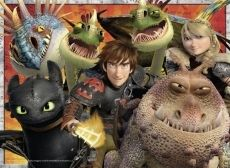 This artist inspires me by making the dragons look as real as the people.