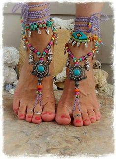 Decora tus pies. Feet Jewelry