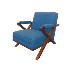 Image of Paul Laszlo Style X Chair