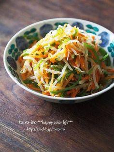 ナムル風サラダと、から揚げ定食 : トイロ 公式ブログ