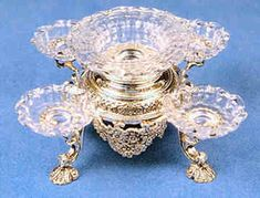 Epergne - sterling silver