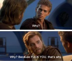 Ohhh Obi-Wan! You are wise!
