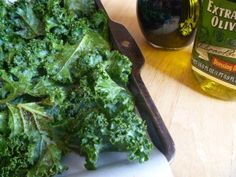 Healthy Snacking – Kale Chips!