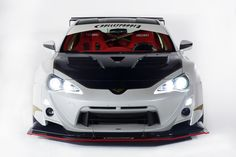 Bulletproof FR-S Concept One sporting a carbon fiber interior, a wide body, a 500-horsepower turbocharged engine and a track-tuned suspension, while the third FR-S from GReddy Performance pushes the power envelope further with a turbocharged 2JZ-GTE engine capable of tweaking out 750 ponies.