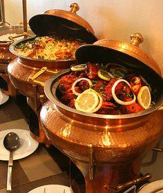 Wedding food buffet indian for 2019 Best Buffet, Buffet Set, Food Buffet, Catering Buffet, Catering Ideas, Food Platters, Raw Food Recipes, Indian Food Recipes, Great Recipes