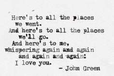 #quote #johngreen