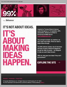 1000 images about design email template on pinterest for Modern newsletter design inspiration