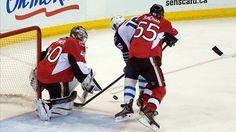 Robin Lehner and the Ottawa Senators Too Much for the Winnipeg Jets