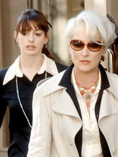 The Devil Wears Prada - Anne Hathaway & Meryl Streep