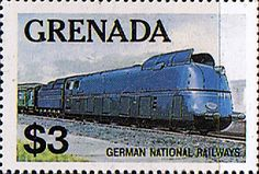Grenada 1975 SG 1217 Trains of the World Fine Mint Scott 1125 Other West Indies and British Commonwealth Stamps HERE!