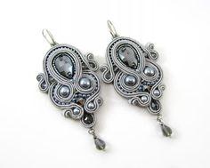 soutache - earrings   mishtiart.blogspot.com - follow me! :)