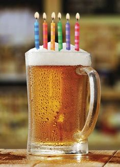 Birthday Beer Funny Birthday Card Beer with Birthday candles on a Greeting Card - Happy Birthday Funny - Funny Birthday meme - - Birthday Beer Funny Birthday Card Beer with Birthday candles on a Greeting Card Happy Birthday Drinks, Happy Birthday Wishes For Him, Happy Birthday Celebration, Birthday Wishes Funny, Happy Birthday Pictures, Happy Birthday Candles, Happy Birthday Greetings, Birthday Beer, Birthday Celebrations