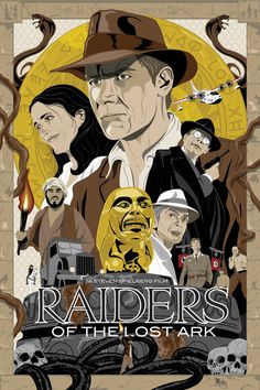 raiders_of_the_lost_ark_poster_by_mikemahle