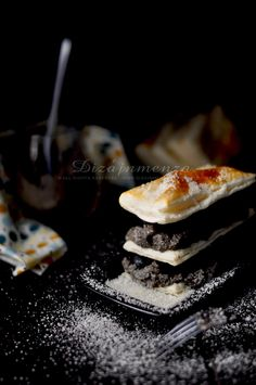 Mille Feuille with Tapanade