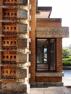 Imperial Hotel, Tokyo, by Frank Lloyd Wright   Flickr - Photo Sharing!