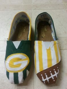 football #TOMS #painted toms #custom orders. Find me: www.facebook.com/SassyYourSole