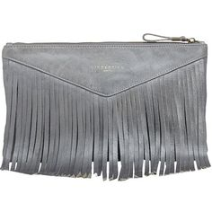 Lässige graue #Clutch von #Liebeskind Berlin. Die Clutch hat hübsche Fransen und ist ein echter Hingucker. ♥ ab 159,90 € Clutch, Bags, Fashion, La Mode, Fringes, Handbags, Kids, Moda, Fasion
