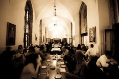 A lively crowd. Hart House, Toronto Life, Crowd, Ceiling Lights, City, Gallery, Wedding, Valentines Day Weddings, Roof Rack