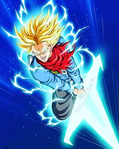 Dragon Ball Super Manga, Episode and Spoilers Dragon Ball Gt, Dragon Ball Z Shirt, Dragonball Anime, Dragonball Super, Manga Anime, Anime Art, Trunks Super Saiyan, Super Trunks, Anime Boys
