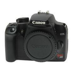Canon - Canon EOS Rebel XS 10.1-Megapixel Digital SLR Camera - Black (Body Only)