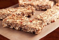 Pecan Caramel Granola Bars | 27 Healthy Breakfasts Under 400 Calories For When You're In A Rush