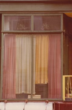 'dusty curtains' by max kozloff, 1977