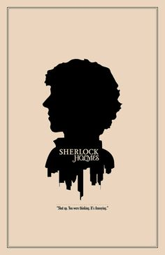 Sherlock Character Cameo: Sherlock Holmes Print // Minimalist London Skyline and. - Sherlock Character Cameo: Sherlock Holmes Print // Minimalist London Skyline and Literary Character - Sherlock Holmes Bbc, Sherlock Y Watson, Fan Art Sherlock, Sherlock Holmes Quotes, Sherlock Poster, Sherlock Holmes Benedict Cumberbatch, Funny Sherlock, Sherlock John, Sherlock Season