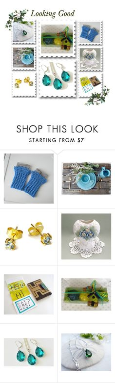 """""""May Etsy mix"""" by oxysfinecrafts ❤ liked on Polyvore featuring Rustico and Hostess"""