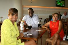 Supporters of the 20th Annual CEI Ladies' Open at Royal Westmoreland in Barbados.